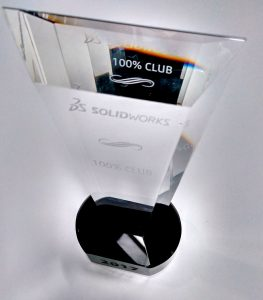 Premio SOLIDWORKS 100% Club 2017
