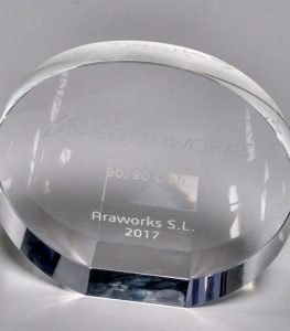 Premio SOLIDWORKS 90/90 Club 2017